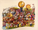 Weintz composite drawing, 1982 World's Fair