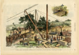 Harper's Weekly.   May 7, 1887.   Marble Quarry near Knoxville...