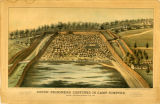 Union Prisoners Confined in Camp Sumpter, Near Andersonville, Ga