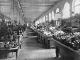 Market House interior, vegetable market, 1898