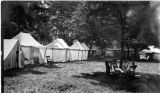 Townsend tent meeting postcard
