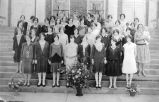 McCalla Avenue Baptist Church Sunday School Class, 1936.