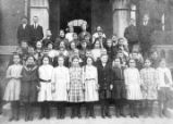 McCallie Elementary School group, 1908-1909