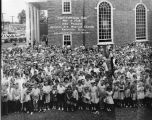 "McCalla Avenue Baptist Church ""Participation Day."" 1959. (left half of photograph)"