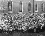 "McCalla Avenue Baptist Church ""Participation Day."" 1959. (right half of photograph)"