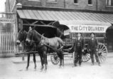 City Delivery Company ice wagon, 1907
