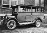 Powell School bus, ca. 1920