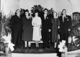Walker - Hollingsworth wedding, 1950