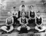 Halls High School basketball team, ca. 1922