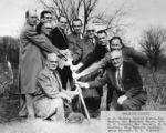 First Baptist Church of Powell groundbreaking, 1956