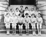 Knoxville High School girls basketball team, 1929