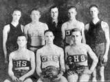 Gibbs High School boys basketball team, ca. 1922