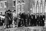 Vestal Methodist Church Educational Building groundbreaking, 1963