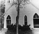 Zion Evangelical Lutheran Church entrance, Knoxville, TN, 1930
