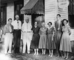 Catherine Arthur Library board members, 1954