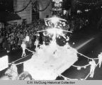 Ritta Community Christmas float, 1957