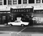 Buick in front of Farragut Hotel, ca. 1960s