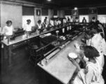 Knoxville Colored high School kitchen, 1924