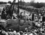 Holy Ghost Catholic Church groundbreaking, 1925