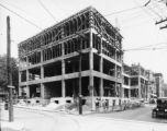 YWCA building construction, 1925