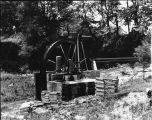 Westmoreland water wheel construction