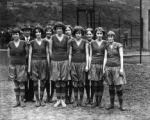 Unidentified girls team
