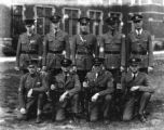 Unidentified group of men in military uniform