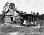 Brooks.  Mary Brooks cabin, 1926.