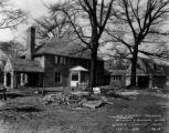 Sadler house construction, 1930