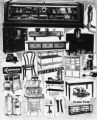 Kitchen equipment advertisement art