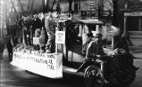 U.S. Veterans Bureau parade float, November 15, 1921