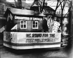 Daughters of America parade float, November 15, 1921