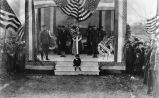 Patriotic display, National Cemetery, 1921