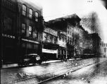 Gay Street from Benton Store, 1921