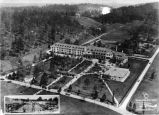 Whittle Springs Hotel aerial view, 1922