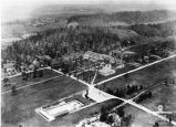 Whittle Springs Hotel and swimming pool aerial view, 1922