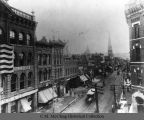 Gay Street, Knoxville, from Miller's Building, ca. 1890.