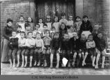 Hampton-Sidney School fourth grade, 1887