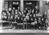 Hampton-Sidney School group, 1887