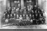Hampton-Sidney School fifth grade, 1887