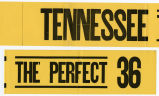 Burn. 'Tennessee The Perfect 36'  banner