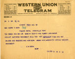 Burn. D.M.Owen telegram against ratification