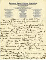 Burn. Mrs. D.T. Kimbrough letter to Mrs. J.L. Burn.  P. 3