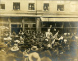 Temperance Election of March 11, 1907, Vera Smith singing