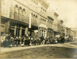 Temperance Election of March 11, 1907, parade on Gay Street