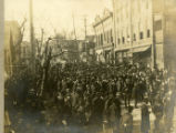 Temperance Election of March 11, 1907, scene at South Seventh