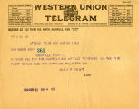 Burn.  Mrs. R.P. Knight telegram, for ratification