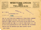 Burn.  Mary B. Mahon telegram opposed to ratification.