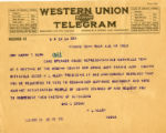 Burn.  N.Q. Allen telegram against ratification.