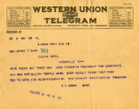 Burn. S.C. Brown telegram against ratification.